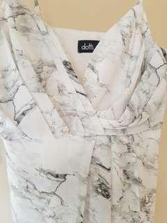 Dotti marbel dress