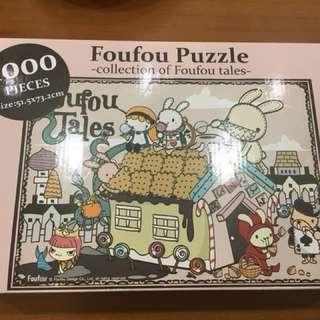 拼圖 Foufou Puzzle - collection of Foufou tales 1000 pieces