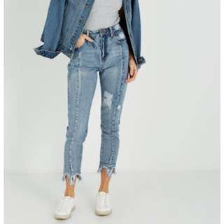 NWOT - Cotton On 90s high rise jean - size 6
