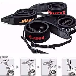 相機背帶彈性減震 NIKON  SONY  CANON  PENTAX 佳能 尼康 索尼 賓得 肩帶 『📦預購&現貨』