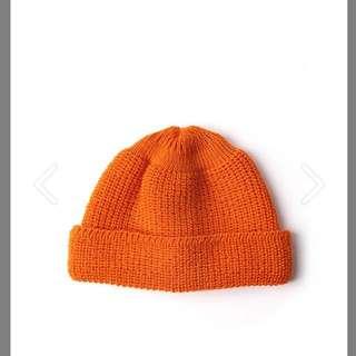 Leuchtfeuer 短毛帽 (橘)