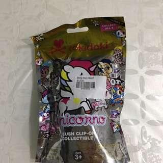 Tokidoki Unicorno Plush Clip-on Collectible Blind Bag