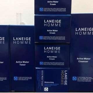 LANEIGE HOMME active water cream