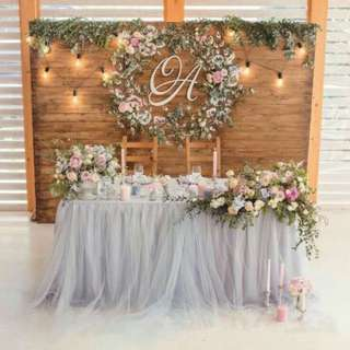 Table Skirting (TULLE)