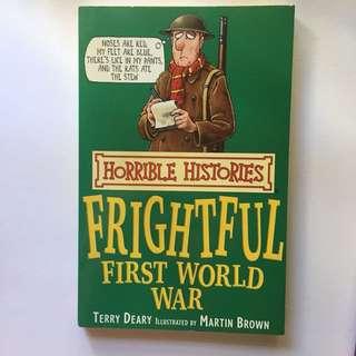 horrible histories - frightful first world war