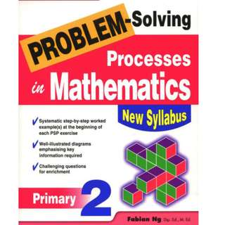 Problem Solving Processes in Math