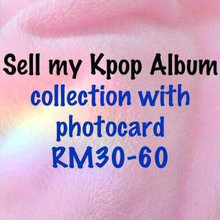 Cleareance Kpop collection Exo Bts Got7 SHINee
