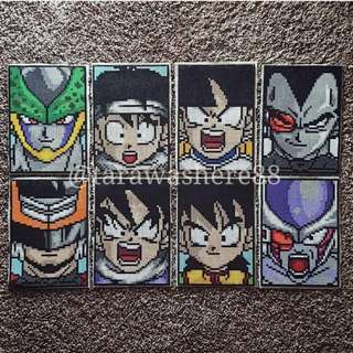 Hama Beads Design Dragon Ball Z Characters