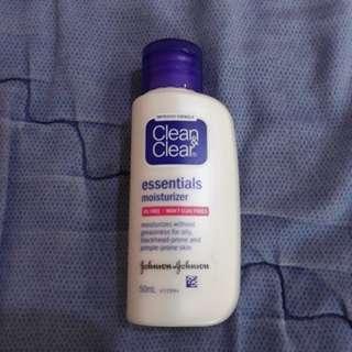 Clean n clear essentials moisturizer