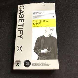 (Brand New) Casetify iphoneX premium protective case
