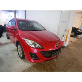 WEEKDAY PACKAGE MAZDA3 1.6L SDN LUX