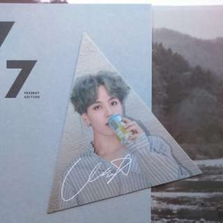 (WTT)GOT7 Yugyeom Triangle card to any members