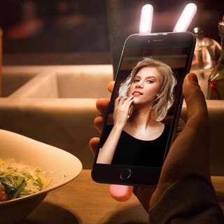 Selfie studio photo FaceTime lights for iPhoneX