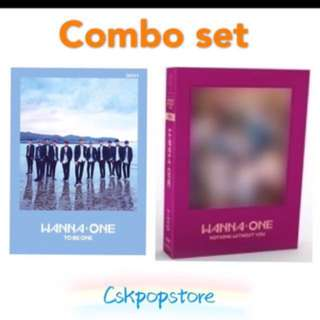 Combo set wanna one album