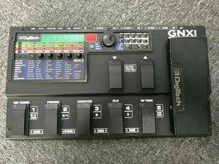 Digitech GNX 3000 Guitar Workstation with power supply.