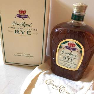 加拿大得獎威士忌 Crown Royal Northern Harvest RYE