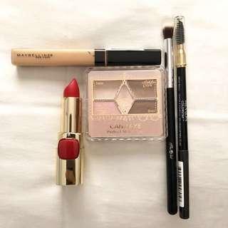 Canmake, A list, Maybelline, Loreal, Revlon makeup bundle