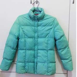 立領鋪棉防風外套