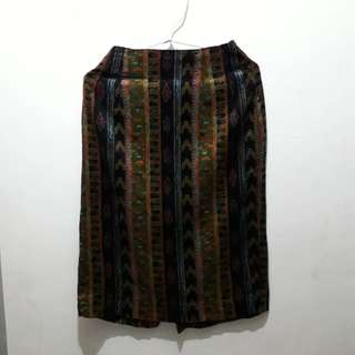 Rok / High Waist Tribal Skirt