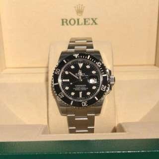 Rolex 116610LN 黑水鬼