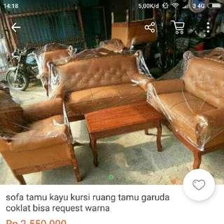 sofa garuda ( contoh )
