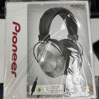 Pioneer SE-MS5T-S 耳罩式耳機(全新)
