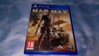 Kaset Ps4 Mad Max Original