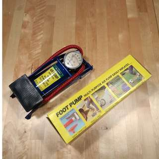 Sellery Foot Pump(FREE DELIVERY!!)