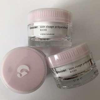 INSTOCK Glossier Priming moisturizer RICH