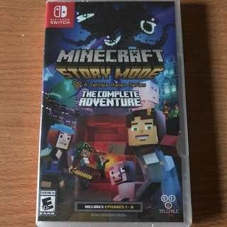 BNIB Nintendo Switch Minecraft Story Mode