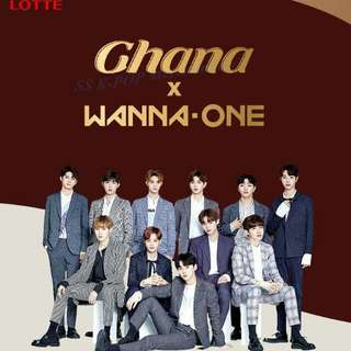 Ghana Chocolate Postcard Wanna One