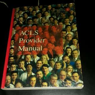 ACLS Provider Manual by American Heart Association