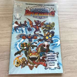 Skylanders IDW Superchargers comic book #1