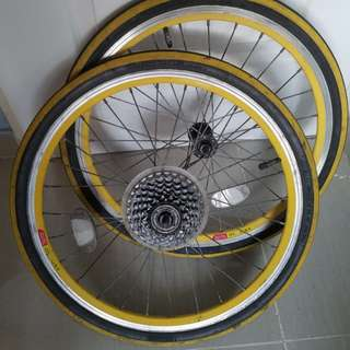 Cycle tyres