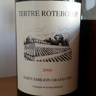Chateau Le Tertre-Roteboeuf 2006, Saint-Emilion Grand Cru, France, Red Wine