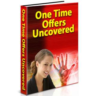 One Time Offers Uncovered eBook