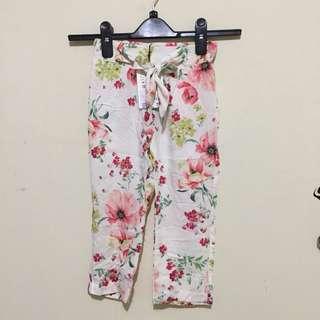 Pants Flower Zara Girls (NEW)