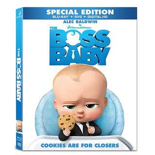 🎁 Festive Season Sales: 🆕 The Boss Baby Blu Ray + DVD 📦