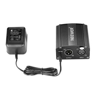 Neewer 1-Channel 48V Phantom Power Supply with Adapter -- 422