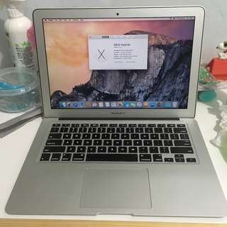 "Macbook Air 13"" Early 2015 i5 4gb 128gb ssd preloved"