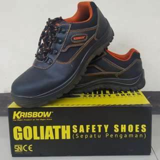 [Jual] Safety Shoes Krisbow Goliath Size 42