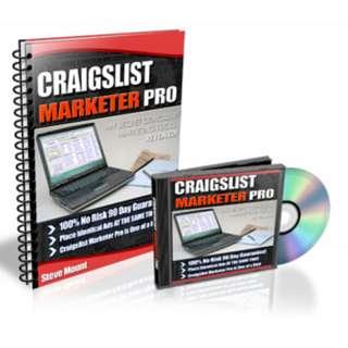 Craigslist Marketer Pro eBook (With Video Tutorial)
