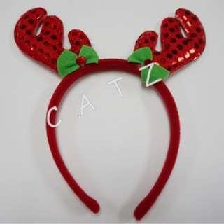 < CATZ > Christmas Props Christmas Headband