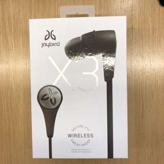 (NEW)Jaybird X3 Wireless Headphone