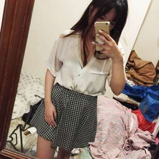 Baju MANGO AUTHENTIC Casual / Kantor Bahan Chiffon Adem