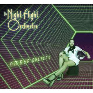 The Night Flight Orchestra ‎– Amber Galactic Limited CD Digipak