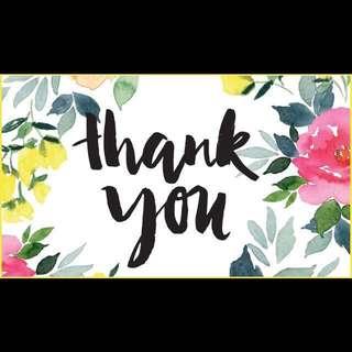 🌼 Appreciation 🌼