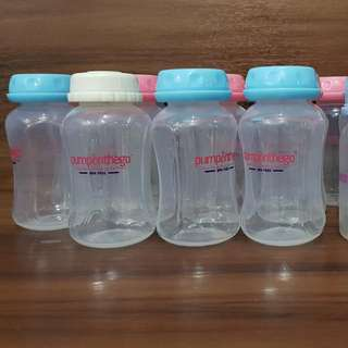 Pump On The Go Bottles For Breast milk