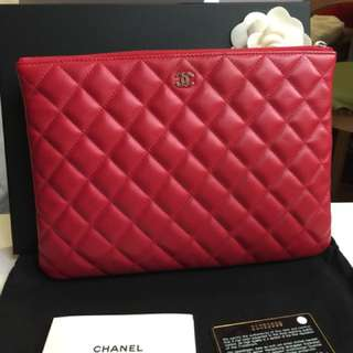Chanel O Case New Medium (RED)