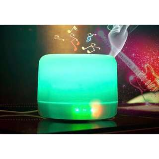 (DEFECT) Aroma Diffuser & Bluetooth Music Player  (400ml)